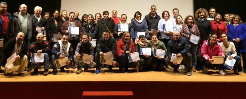 La FACC entrega los diplomas de los cursos de formación del Programa PIOME