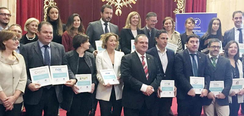 La FACC, distinguida como partners de la candidatura de Asturias como Región Emprendedora Europea 2019