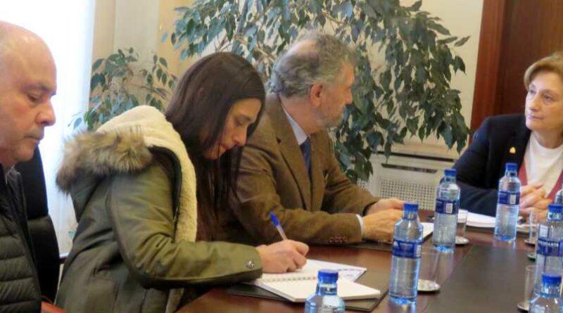 La FACC y Delegación de Gobierno analizan los daños en los concejos causados por el temporal