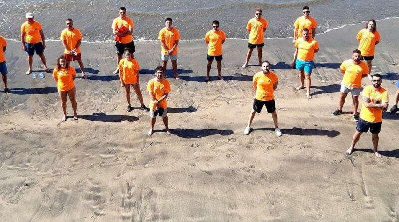 La FACC presta los servicios de salvamento en las playas de seis concejos asturianos
