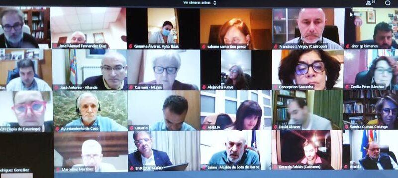 La FACC celebra una reunión de los Ayuntamientos sin cierre perimetral con la Consejería de Salud